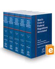 West's Code of Federal Regulations Annotated Title 48 Federal Acquisition Regulations System, 2021 ed.