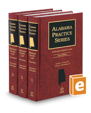 Alabama Family Law, 2d (Alabama Practice Series)