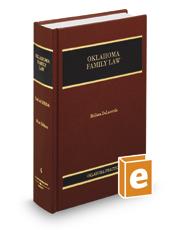 Oklahoma Family Law (Vol. 4, Oklahoma Practice Series)