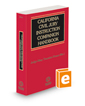 California Civil Jury Instruction Companion Handbook, 2020–2021 ed.