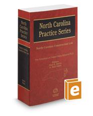 North Carolina Construction Law, 2016-2017 ed.
