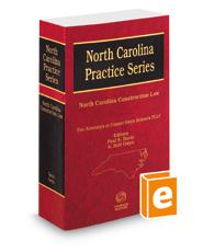 North Carolina Construction Law, 2020 ed. (North Carolina Practice Series)