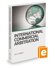 International Commercial Arbitration, 2018 ed.