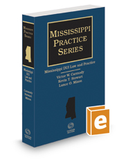Mississippi DUI Law and Practice, 2016-2017 ed.