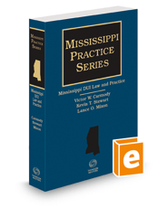 Mississippi DUI Law and Practice, 2018-2019 ed.