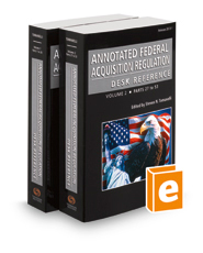 Annotated Federal Acquisition Regulation Desk Reference, 2016-1 ed.