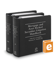 Mortgage and Asset Backed Securities Litigation Handbook, 2d
