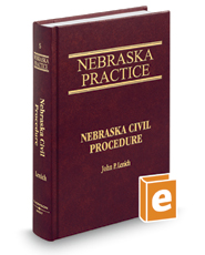 Civil Procedure (Vol. 5, Nebraska Practice Series)