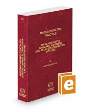 Massachusetts Summary Judgment and Related Termination Motions, 2020 ed. (Vol. 55, Massachusetts Practice Series)