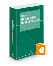 McKinney's New York Criminal and Motor Vehicle Law Pamphlet with CD-ROM, 2021 ed.