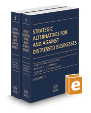Strategic Alternatives For And Against Distressed Businesses, 2019 ed.