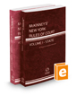 McKinney's New York Rules of Court - State and Federal District, 2016 ed. (Vols. I & II, New York Court Rules)