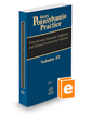 Pennsylvania Summary Judgment and Related Termination Motions, 2019-2020 ed. (Vol. 22, West's® Pennsylvania Practice)