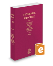 Tennessee Summary Judgment and Related Termination Motions, 2017-2018 ed. (Vol. 24, Tennessee Practice Series)