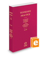 Tennessee Summary Judgment and Related Termination Motions, 2018-2019 ed. (Vol. 24, Tennessee Practice Series)