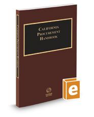 California Procurement Handbook, 2016-2017 ed.