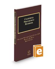 California Procurement Handbook, 2020-2021 ed.
