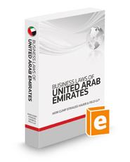 Business Laws Of United Arab Emirates, 2013 ed.