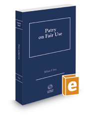 Patry on Fair Use, 2017 ed.
