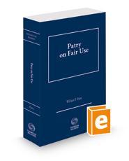 Patry on Fair Use, 2021 ed.