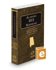 Alabama DUI Handbook, 2019-2020 ed.
