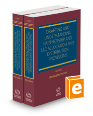 Drafting and Understanding Partnership and LLC Allocation and Distribution Provisions, 2021 ed.