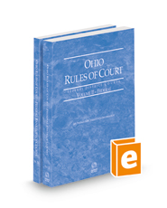Ohio Rules of Court - Federal District Court and Federal Bankruptcy, 2022 ed. (Vols. II & IIA, Ohio Court Rules)