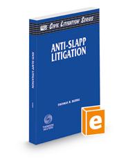 Anti-SLAPP Litigation (The Rutter Group Civil Litigation Series)