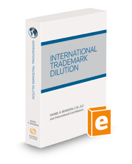 International Trademark Dilution, 2021 ed.