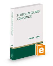 Foreign Accounts Compliance, 2018 ed.
