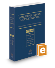 American Indian Law Deskbook, 2016 ed.