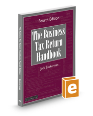 The Business Tax Return Handbook, 4th
