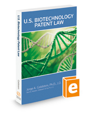 U.S. Biotechnology Patent Law, 2018-2019 ed.