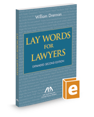 Lay Words for Lawyers, Expanded 2d