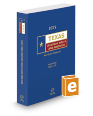 Cox's Texas Creditors' Rights Laws Annotated, 2017 ed. (Texas Annotated Code Series)