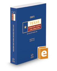Cox's Texas Creditors' Rights Laws Annotated, 2019 ed. (Texas Annotated Code Series)