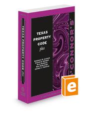 O'Connor's Texas Property Code Plus, 2021-2022 ed.