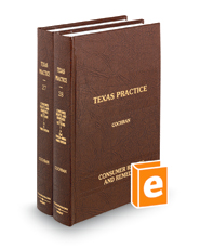 Consumer Rights and Remedies, 3d (Vols. 27 and 28, Texas Practice Series)