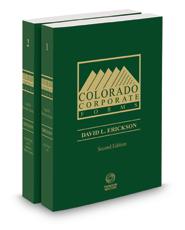 Colorado Corporate Forms, 2d 2015-2016 ed.