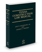 Texas Construction Law Manual, 3d, 2015-2016 ed.