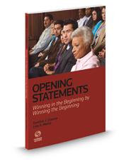 Opening Statements: Winning in the Beginning by Winning the Beginning, 2015-2016 ed.