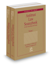 Antitrust Law Sourcebook for the United States and Europe 4th, 2015-2016 ed. (Antitrust Law Library)