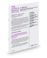 The Nash & Cibinic Report