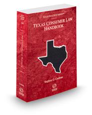 Consumer Law Handbook, 2015-2016 ed. (Vol. 28A, Texas Practice Series)