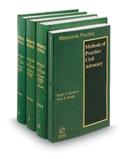 Methods of Practice (Vols. 5, 5A, 6 & 6A, Minnesota Practice Series)