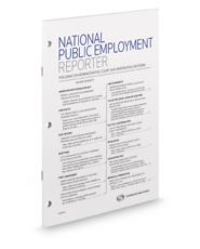 National Public Employment Reporter