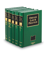 Oregon Law and Practice