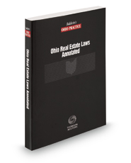 Ohio Real Estate Laws Annotated, 2015 ed.