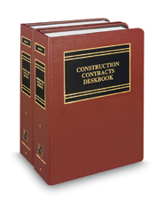 Construction Contracts Deskbook