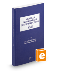 Michigan Nonstandard Civil Jury Instructions, 2020 ed.